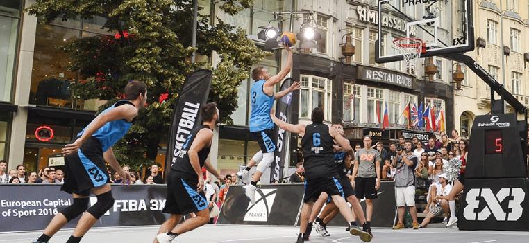 3×3バスケットボール画像