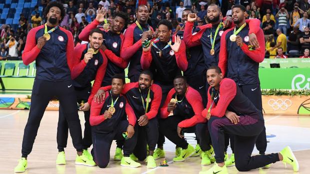 バスケットボールアメリカ代表画像