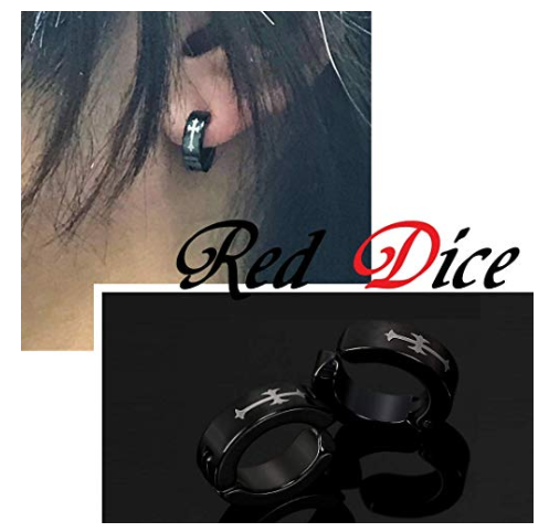 Red Diceフェイクピアス